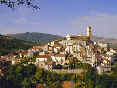 Abruzzo, Italy.  This is where we would go for vacation in the winter.