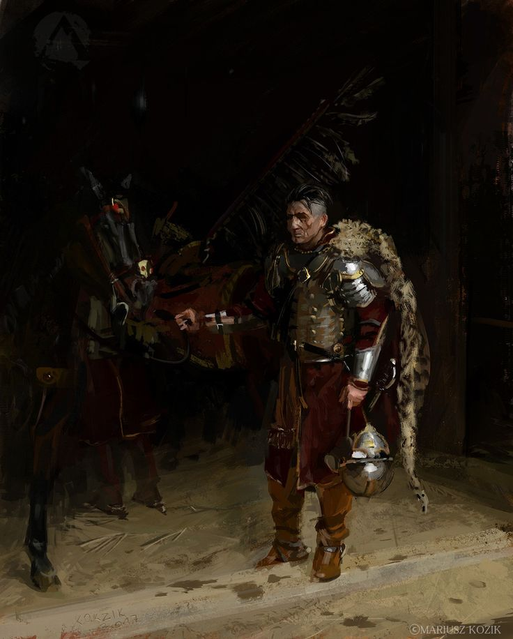 ArtStation - To the stables. The Winged Hussar series., Mariusz Kozik