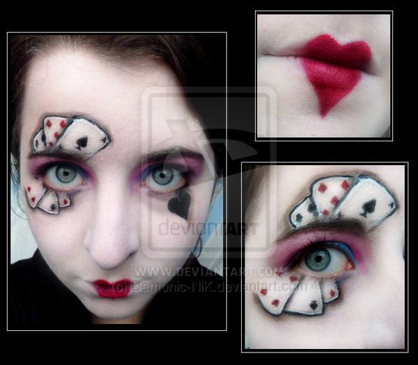 20 Best Images About Card Costume On Pinterest Nail Design Halloween Makeup And Harley Quinn