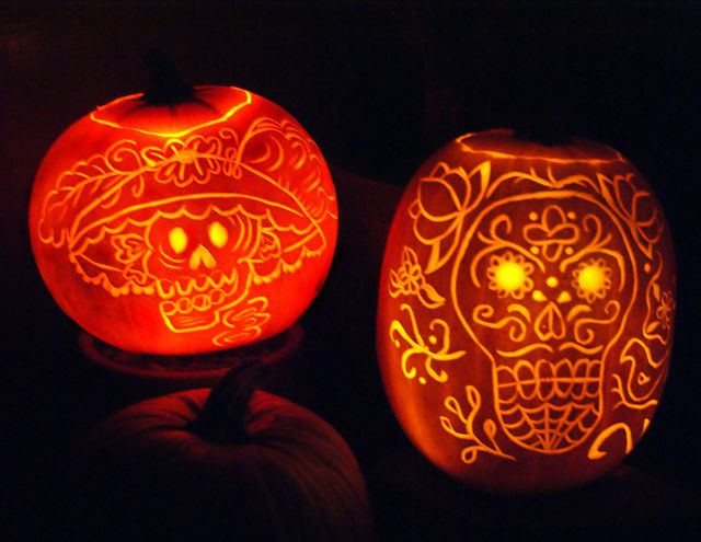 fun idea for halloween pumpkinsespecially since halloween at our house is dia - Halloween Dia