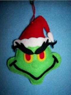 Fans of Carolyn DeAngelis Felt Ornaments: November 2009