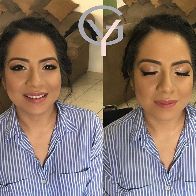 Una linda clienta del día de ayer 👩🏻🎓👩🏻🎓👩🏻🎓muchas felicidades en tu graduación 💄💋💋