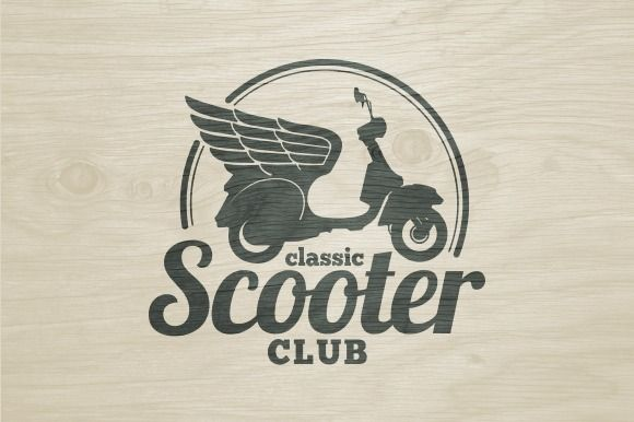 Check out Scooter Club Logo by sgcanturk on Creative Market