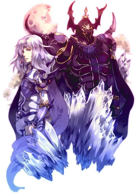 Cecil & Golbez (Final Fantasy IV) #ff4
