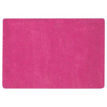 Tapis à poils longs rose fuchsia 120 x 180 cm MAGIC