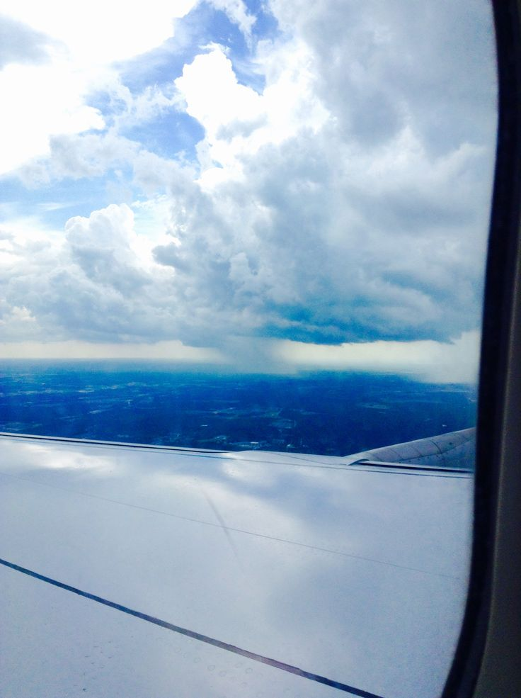 Rain from a plane. That is so cool.