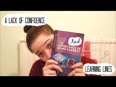 A Lack of Confidence and Learning Lines | Imogendsc - YouTube