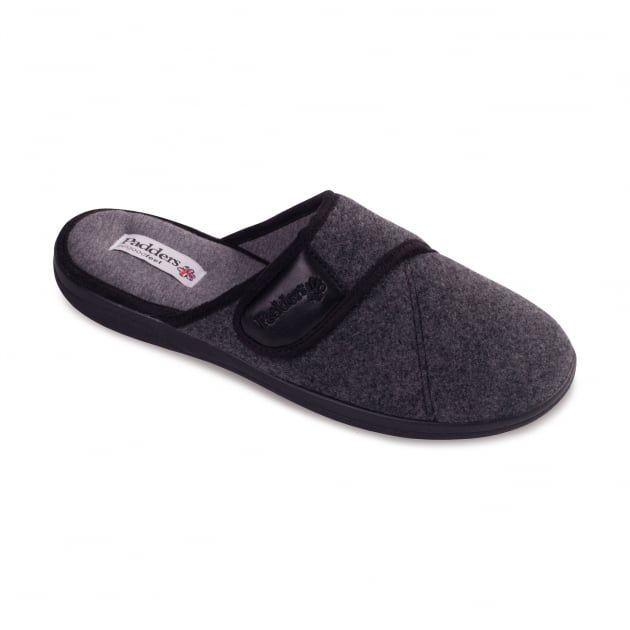 Baxter 423 G Fit Grey Slippers