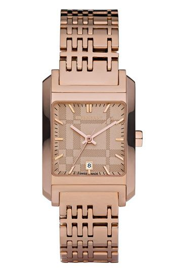 Rose Gold Burberry