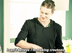 Because, Alex Saxon is the best part about Finding Carter. And, a really awesome guy to know in real life! Love this gif.