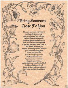Spells Poems