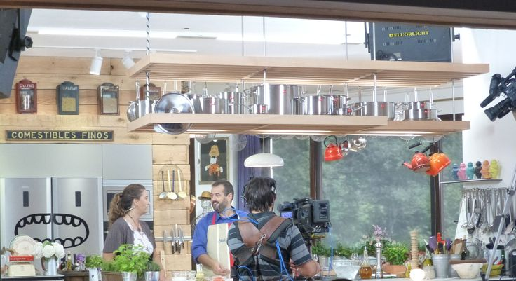 Making Off del programa de Robin Food donde David de Jorge cocina con Campos. (15-10-2013)