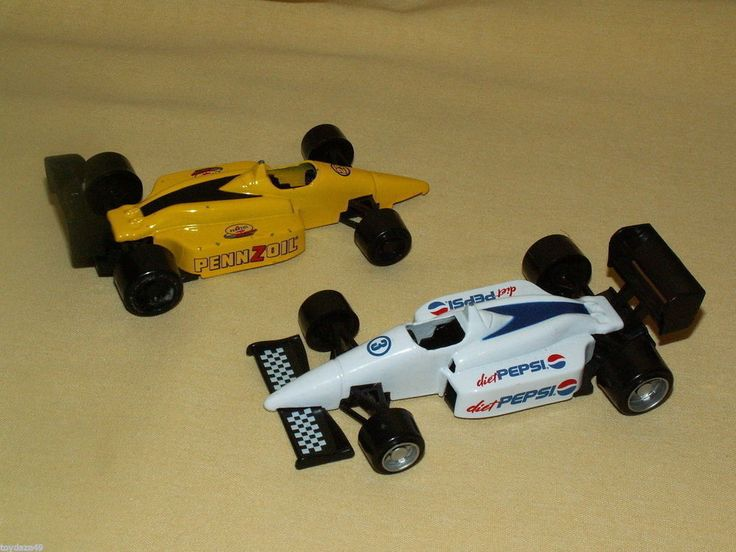 GOLDEN WHEELS SET 2 INDY CAR RACERS PENNZOIL 23 2002 DIET PEPSI 3 FORMULA 1 #GoldenWheels