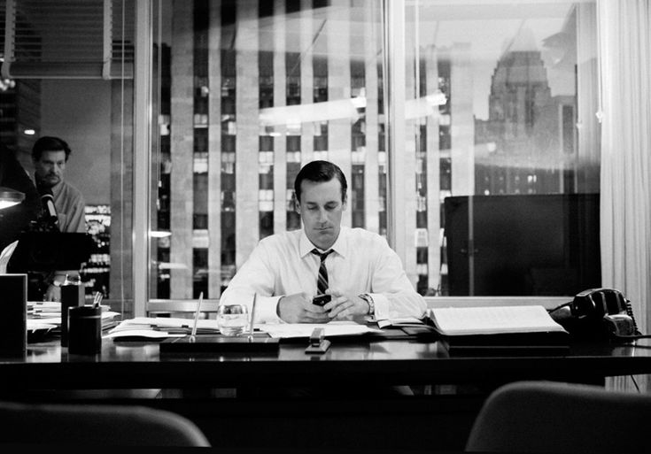 James Minchin's behind-the-scenes photos of Mad Men