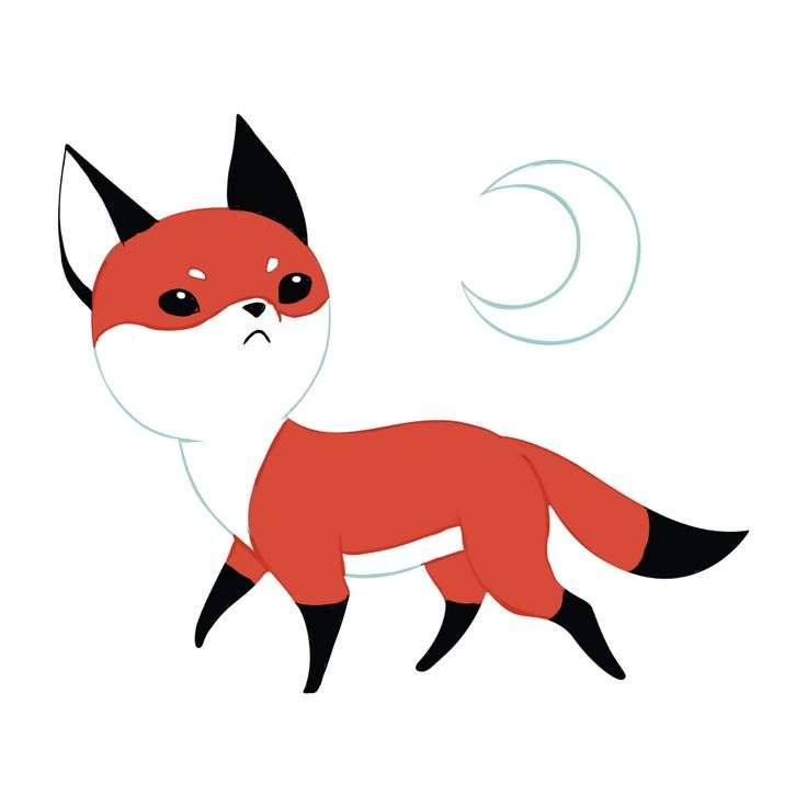 """Adorably sly! We've turned Moon Fox, by Lithuanian digital illustrator Indre Bankauskaite, into a charming anime art wall decal cutout! Below a crescent moon, this fox inspired graphic art print pictures an adorable orange, black, and white fox, sniffing at the air while tiny grey shadows follow her dainty black paws. On the hunt, or on the run? Only time will tell in this darling digital art print decal cutout. Moon Fox is available in 3 sizes: S-15""""w x 12.6""""h; M-17.9""""w x 15""""h; L-35.9""""w x…"""