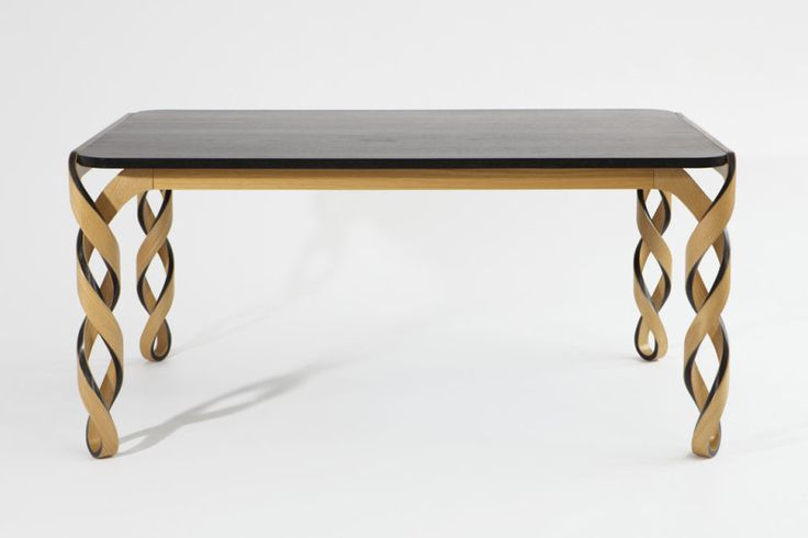 An Amazing DNA–like–Structure Dining Table : Watson Dining Table With Dna Structure Design Ideas