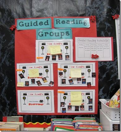 organizing guided reading groups... plus lots of other great reading ideas, all in this one post!