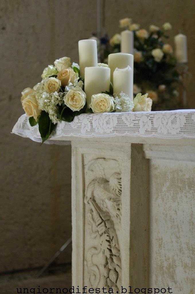 Umbria wedding, altare
