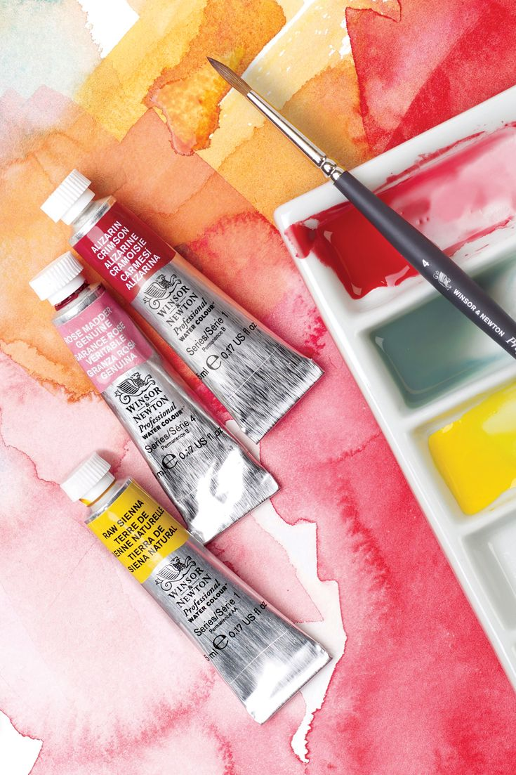 Professional Watercolours Have A Worldwide Reputation For Their