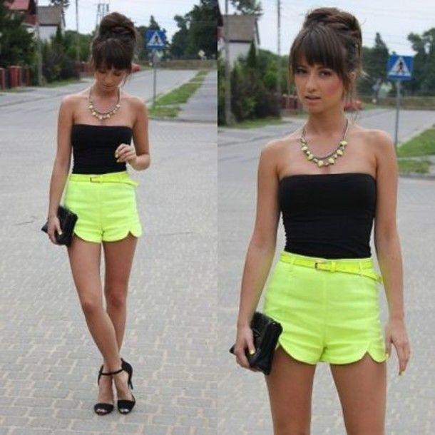 heetheadz.com girls high waisted shorts (12) #highwaistedshorts ...