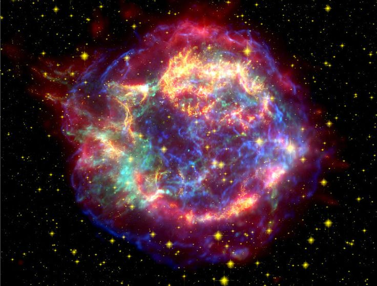 The @Supernova Remnant @Cassiopeia A: Solar System, Supernova Remnant, Cosmo, Mists, Stars, Finals Frontier, Spaces Telescope, Photo, Outer Spaces