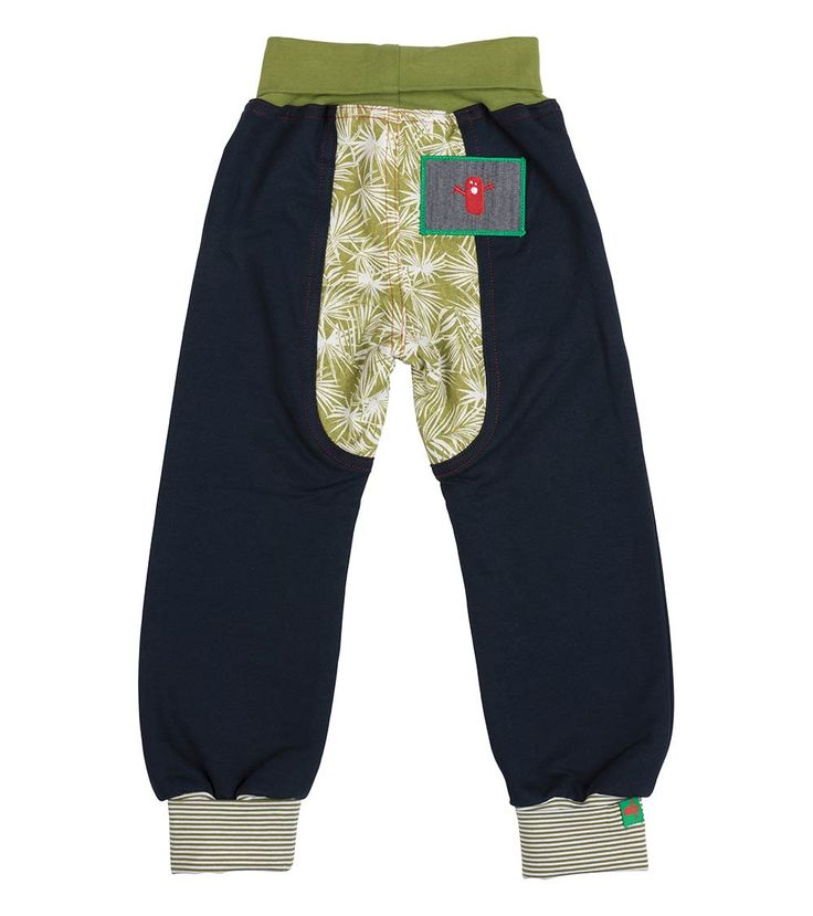 Iguana Track Pant - Big, Oishi-m Clothing for kids, Autumn 2017, www.oishi-m.com