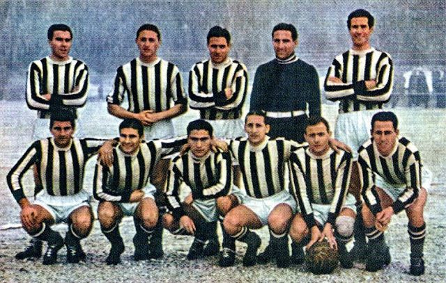 Equipos de fútbol: JUVENTUS 1940-41