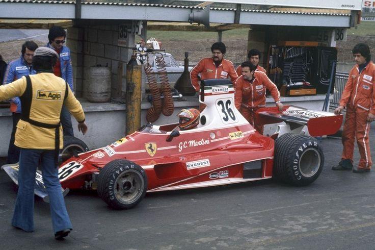 1976 Giancarlo Martini (Ferrari 312T) Scuderia Everest