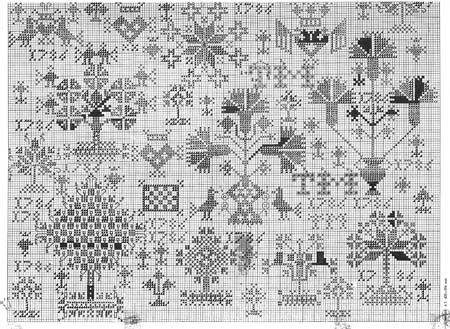 PATROON: Friese merklap 1786 | Berthi's Weblog click on the pic for the free .pdf part 2
