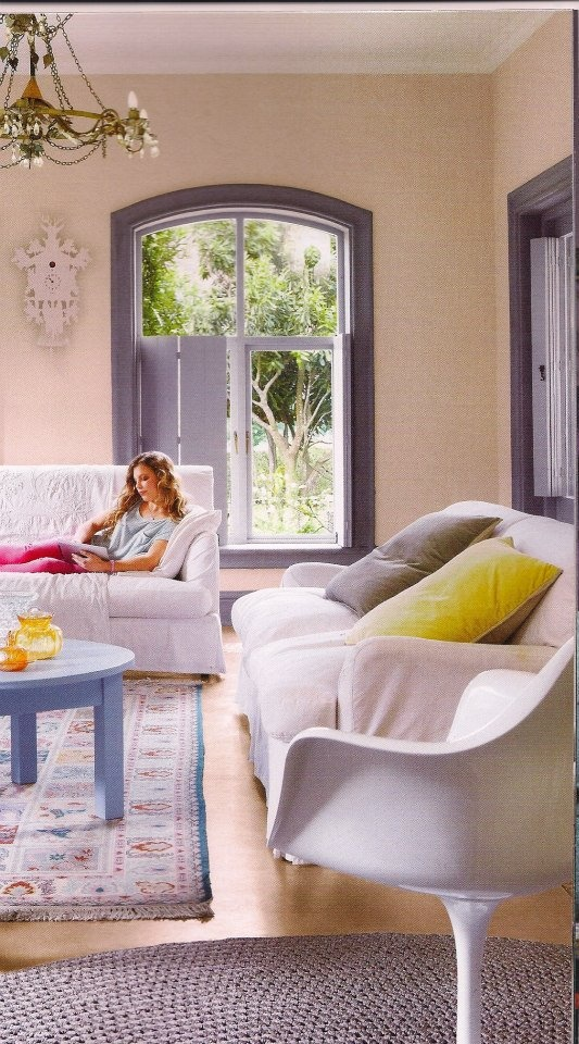 Our Verandah Collection is often used indoors too - like the silver Benya used in the foreground of this image.