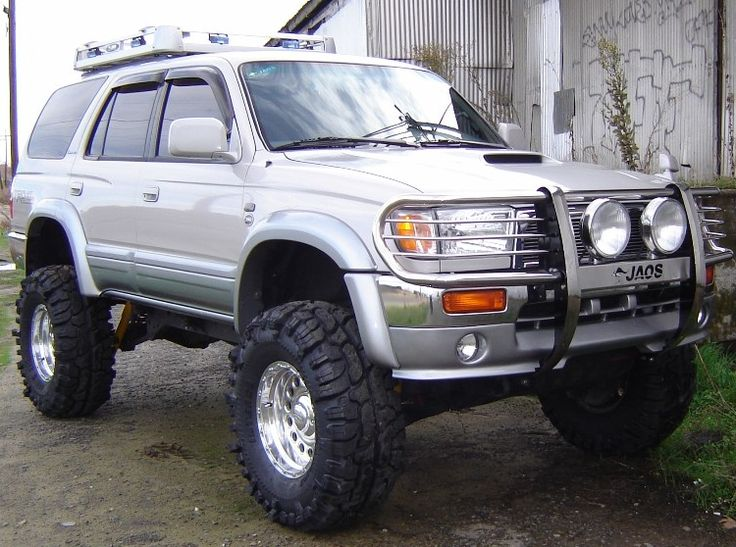 3rd Gen 4Runner. I like the body style of the older 4Runners way better than the newer ones. This would be my first choice truck!