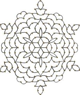 printable rangoli outlines