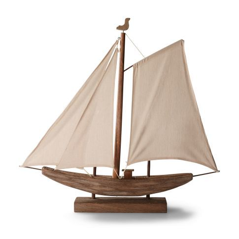 Tischleuchte Segelboot, Maritimer Look