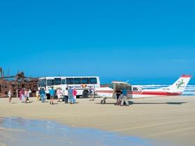 Air Fraser Island airnzsunshine