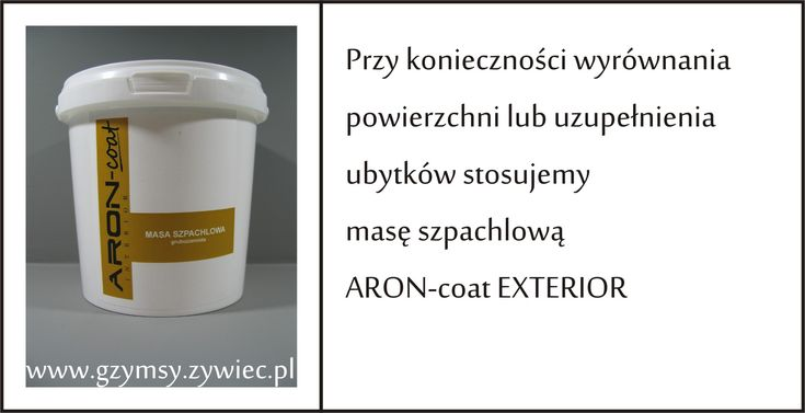 Aron-coat flexible coat for eps moldings