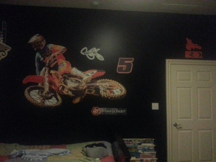 Motocross Bedroom   Dungy Fathead. 17 best ideas about Motocross Bedroom on Pinterest   Dirt bike