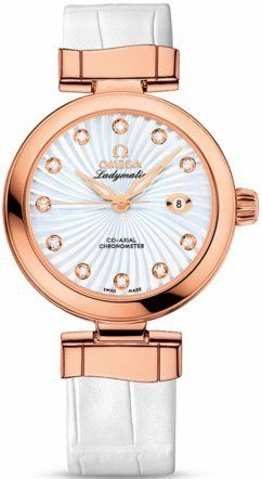 Omega De Ville Ladymatic Automatic Women's Watch 425.63.34.20.55.001 -- Chec...