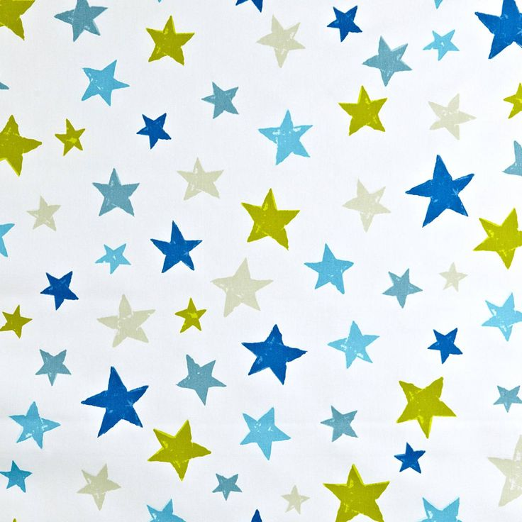 Superstar Fabric - Denim (5718/703) - Prestigious Textiles Playtime Fabrics Collection