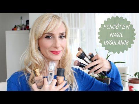 Fondöten Nasıl Sürülür Fırçalar Nasıl Kullanılır | Sebi Bebi - YouTube