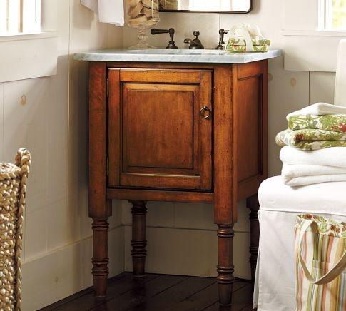 single sink console, pottery barn, $300 - 1000Sinks Consoles, Guest Bathroom, Small Bathroom, Half Bath, Bathroom Sinks, Bathroom Ideas, Single Sinks, Powder Rooms, Pottery Barns