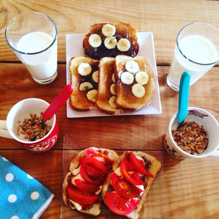 Breakfast melina Sandoval