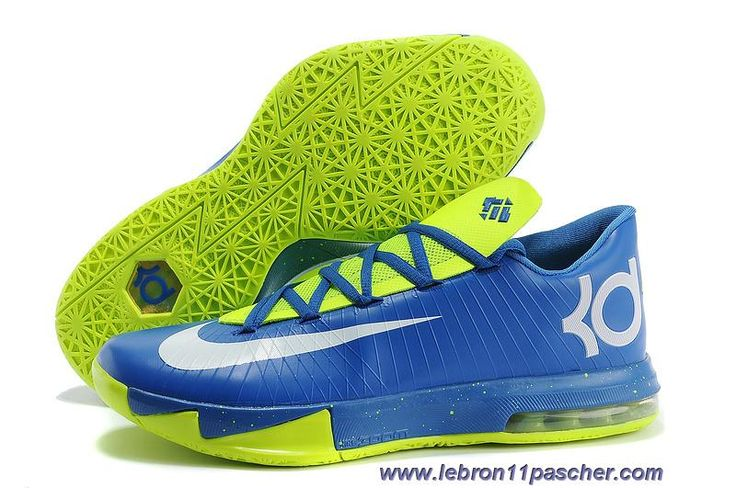 Buy Nike Kevin Durant KD 6 VI Blue/Neon Green For Sale Christmas Deals from  Reliable Nike Kevin Durant KD 6 VI Blue/Neon Green For Sale Christmas Deals  ...