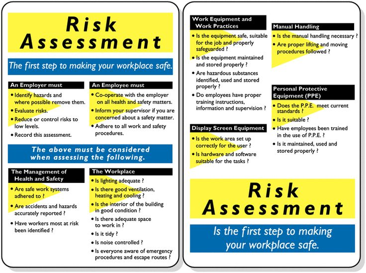 184 best Workplace Safety images on Pinterest Workplace safety - health safety risk assessment