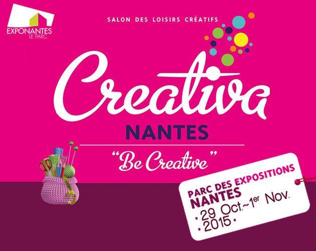 Nantes - Creativa - C'est la référence en matière de Salon consacré aux Loisirs Créatifs : 4 jours dédiés au Do It Yourself, fin octobre - début novembre. De nombreuses animations proposent au public de réaliser des créations uniques et de découvrir de nouvelles techniques. #Nantes #manuel #créatif #créativa #sortie