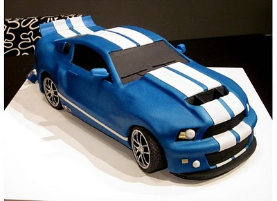 Mustang cake josh will have the oh coolest car cake.