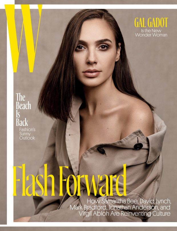 Wonder Woman Star Gal Gadot Lands W Magazine May Cover!