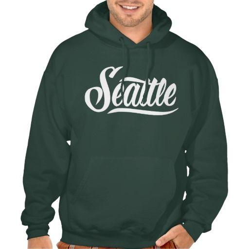 Seattle Hoodie Sweatshirt  #Seattle #lettering #LetterHype