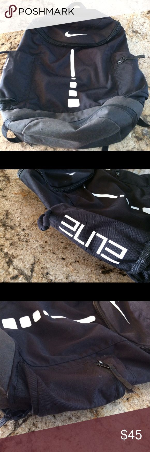 Black Nike Elite backpack Great condition Nike Bags Backpacks