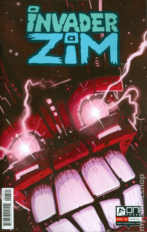 Invader Zim (2015 Oni Press) 3B