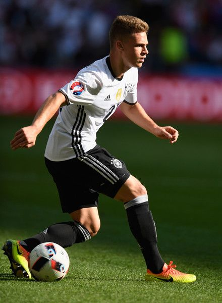 Joshua Kimmich of Germany dives during the UEFA EURO 2016 round of 16 match between Germany and Slovakia at Stade Pierre-Mauroy on June 26, 2016 in Lille, France.